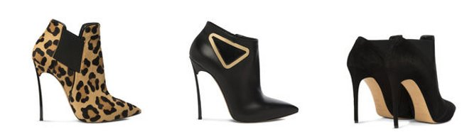 Tronchetti Casadei scarpe autunno inverno 2015