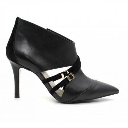 Tronchetti nere Cafè Noir scarpe autunno inverno 2015