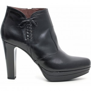 Tronchetti Nero Giardini scarpe autunno inverno 2015