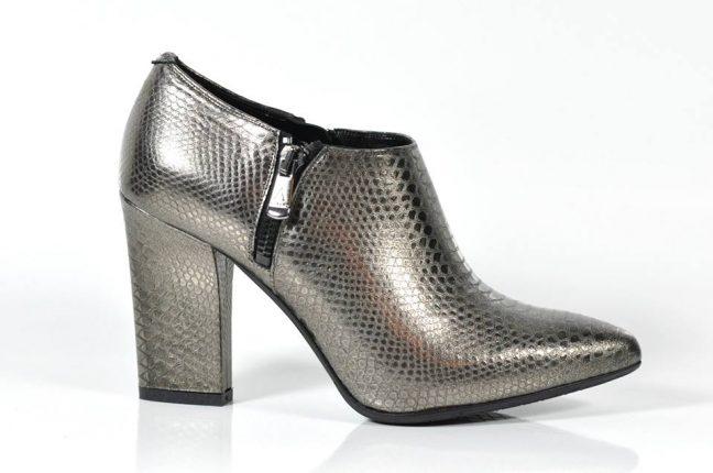 Tronchetto argento Albano scarpe autunno inverno 2015