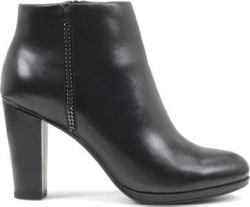 Tronchetto in pelle con zip Geox scarpe autunno inverno