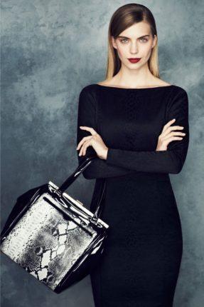 Tubino nero Marks & Spencer autunno inverno 2013 2014