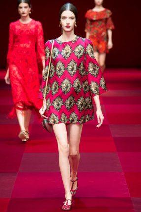 Tunica Dolce & Gabbana primavera estate 2015