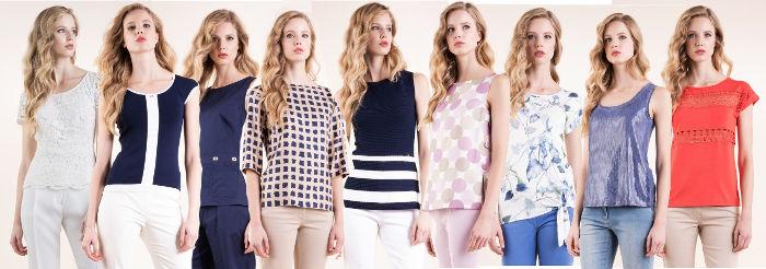 Tuniche t-shirt top e camicie Luisa Spagnoli primavera estate