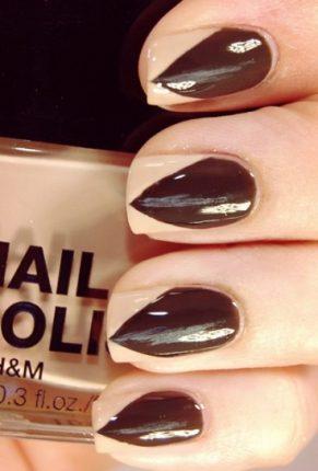 Unghie appuntite nail art Halloween
