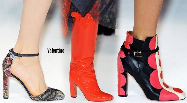Valentino scarpe catalogo autunno inverno 2014 2015