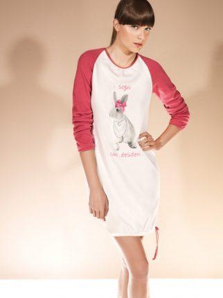 Verdissima autunno inverno 2013 2014 camicia notte stampa cognilietto
