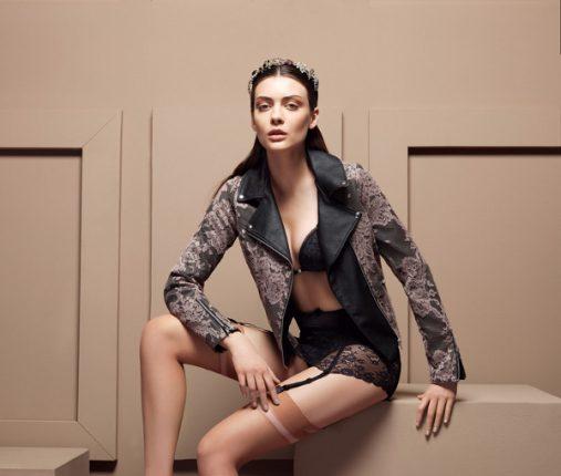 Verdissima autunno inverno 2013 2014 lingerie nero