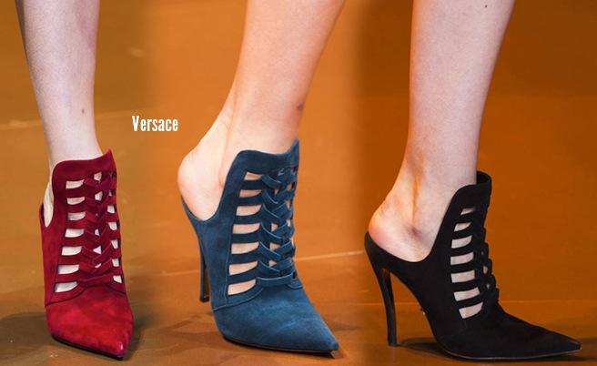 Versace scarpe catalogo autunno inverno 2014 2015