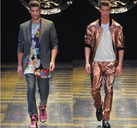 Versace uomo collezione primavera estate 2013
