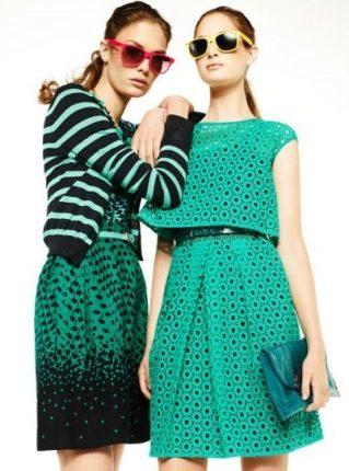 Vestiti verde e nero Pennyblack primavera estate 2013