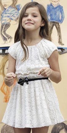 Vestitini bambina Benetton autunno inverno 2013 2014