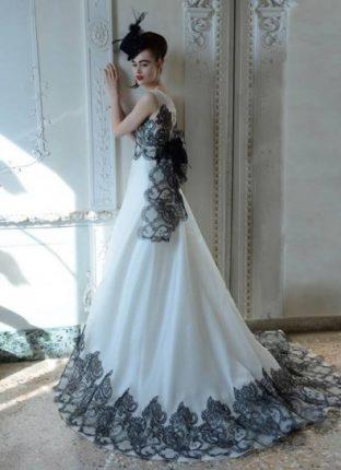 vestito-da-sposa-bicolor