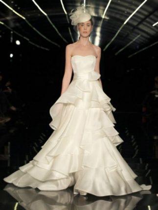 Vestito a balze Atelier Aimée 2015