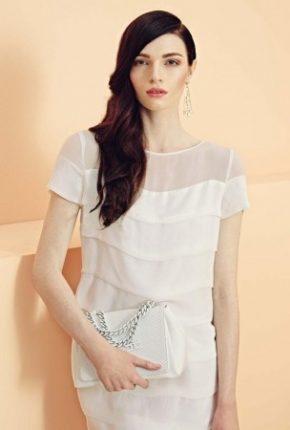 Vestito bianco Elisabetta Franchi primavera estate