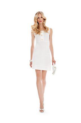 Vestito bianco Luisa Spagnoli primavera estate