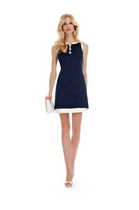 Vestito blu notte Luisa Spagnoli primavera estate