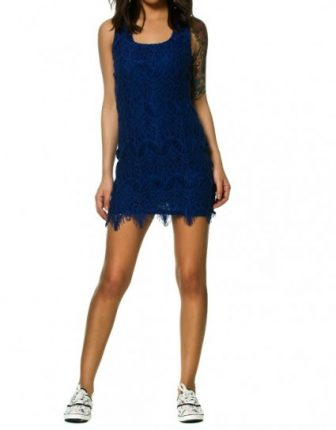 Vestito blu Terranova primavera estate 2014