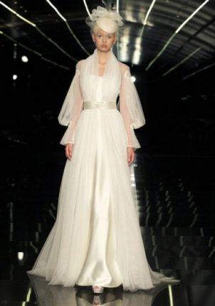 Vestito con maniche a sbuffo Atelier Aimée 2015