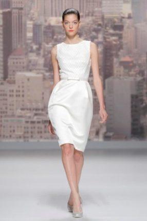 Vestito da sposa corto Rosa Clarà 2015