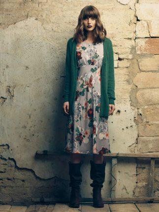 Vestito fiori Fornarina autunno inverno 2015
