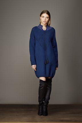 Vestito in maglia Artigli autunno inverno 2017