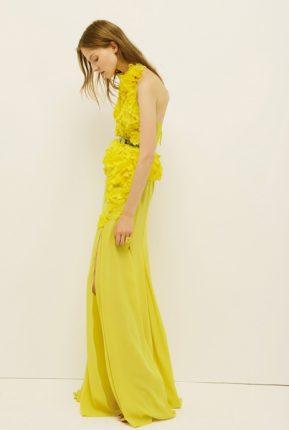 Vestito lungo Nina Ricci primavera estate 2014
