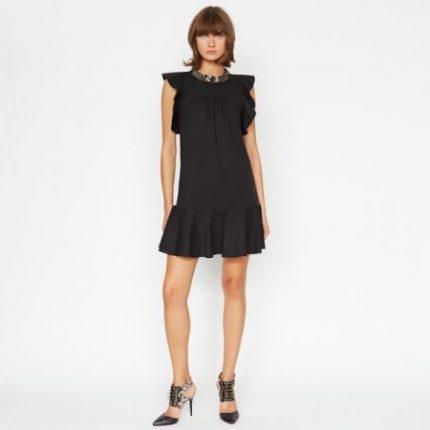 Vestito nero Pinko primavera estate 2014