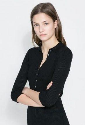 Vestito nero Zara primavera estate 2014