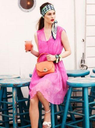 Vestito rosa Pennyblack primavera estate 2013