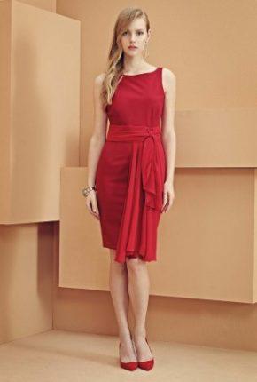 Vestito rosso Elisabetta Franchi primavera estate