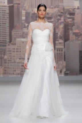 Vestito sposa Rosa Clarà 2015