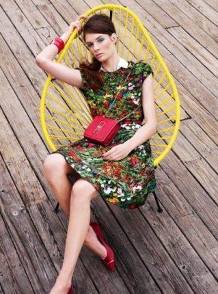 Vestito stampato Pennyblack primavera estate 2013
