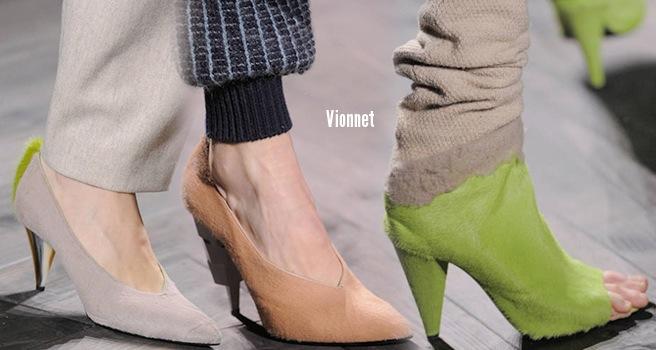 Vionnet scarpe catalogo autunno inverno 2014 2015
