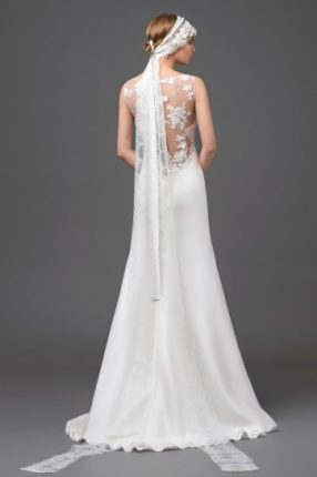 Wedding dress con top ricamato Alberta Ferretti 2015