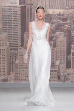 Wedding dress fluido Rosa Clarà 2015