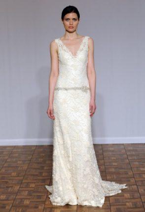 Wedding dress pizzo rose Rosa Clarà 2015