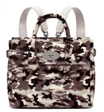 Zainetto camouflage Mulberry