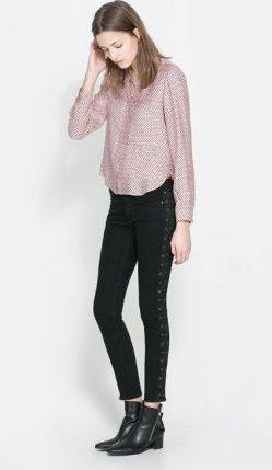 Zara pantaloni primavera estate 2014