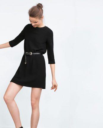 Zara primavera estate 2016 abito con cintura