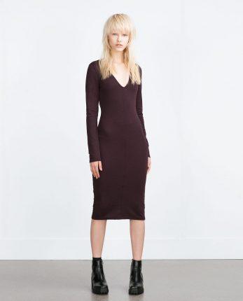 Zara primavera estate 2016 abito lunghette