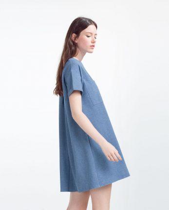 Zara primavera estate 2016 abito svasato