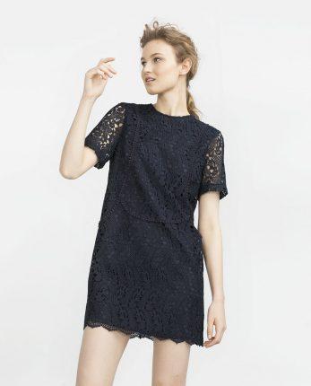Zara primavera estate 2016 mini abito in pizzo