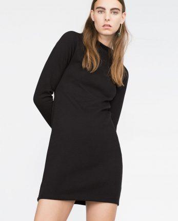Zara primavera estate 2016 mini abito nero