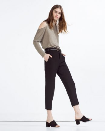 Zara primavera estate pantaloni