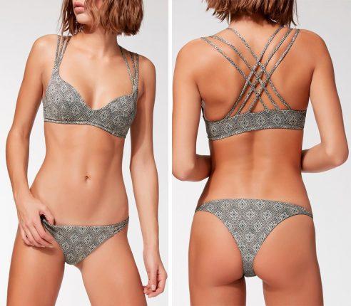 Bikini Top Llenia Denim Lamè Calzedonia