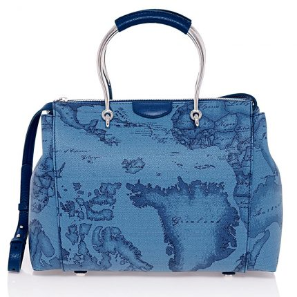 Borsa Denim Con Manico In Metallo (475 Euro)