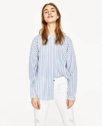 Camicia A Righe Zara
