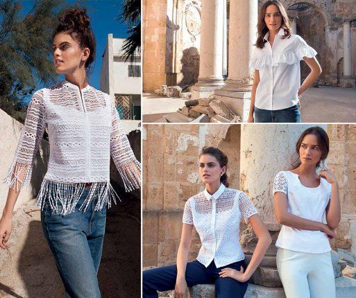 sale retailer 4cce1 540f7 Nara Camicie catalogo 2017: camicie e bluse primavera estate ...