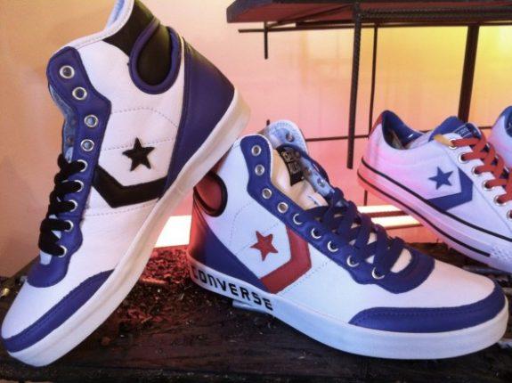 Converse All Star Bianche E Blu Invernali